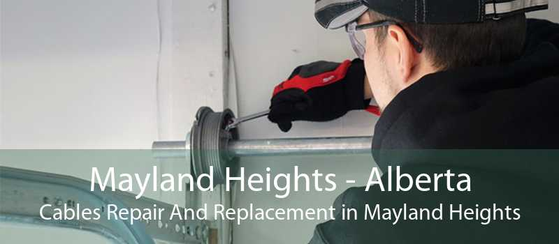 Mayland Heights - Alberta Cables Repair And Replacement in Mayland Heights