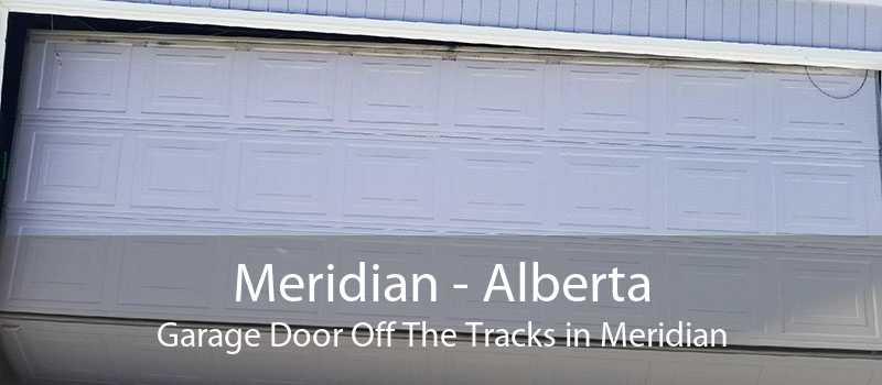 Meridian - Alberta Garage Door Off The Tracks in Meridian