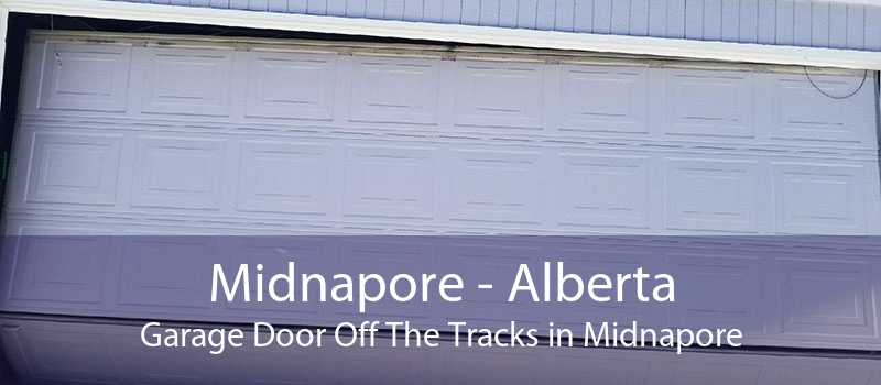 Midnapore - Alberta Garage Door Off The Tracks in Midnapore