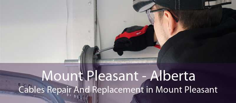 Mount Pleasant - Alberta Cables Repair And Replacement in Mount Pleasant
