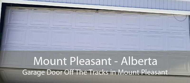Mount Pleasant - Alberta Garage Door Off The Tracks in Mount Pleasant