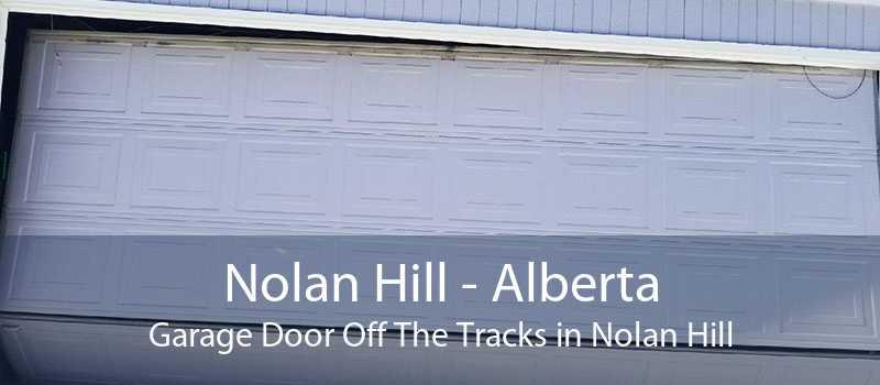 Nolan Hill - Alberta Garage Door Off The Tracks in Nolan Hill