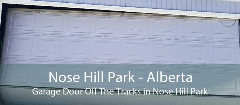 Nose Hill Park - Alberta Garage Door Off The Tracks in Nose Hill Park