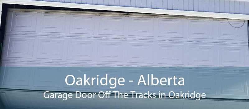 Oakridge - Alberta Garage Door Off The Tracks in Oakridge