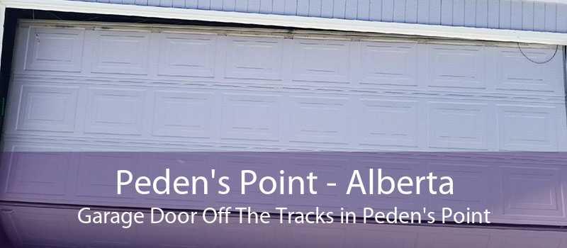 Peden's Point - Alberta Garage Door Off The Tracks in Peden's Point