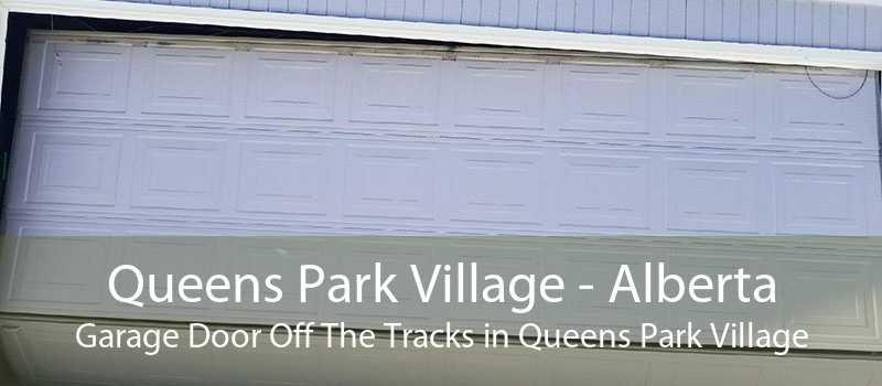 Queens Park Village - Alberta Garage Door Off The Tracks in Queens Park Village