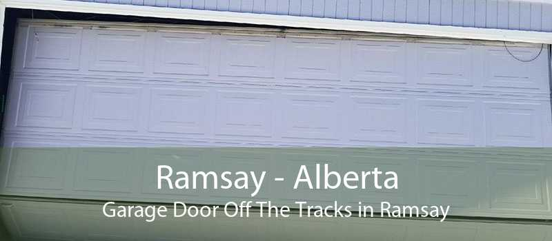 Ramsay - Alberta Garage Door Off The Tracks in Ramsay